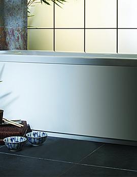 Uno White Front Bath Panel 1700mm - BP4000W