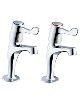 Lever Action Sink Taps With Metal Back Nut - DLT SPEC103
