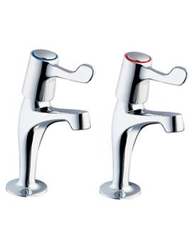 Lever Action Sink Taps With Metal Back Nut - DLT SPEC103