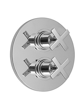 Vado Tonic Concealed 2 Handle Thermostatic Shower Valve