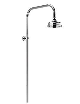 Aqualisa Aquatique Exposed Fixed Height Shower Drencher Head Chrome