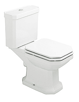 duravit 1930 series close coupled toilet with cistern 655mm. Black Bedroom Furniture Sets. Home Design Ideas