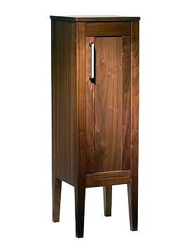 Karma 300mm Walnut Floor Cupboard - KRMFCAW