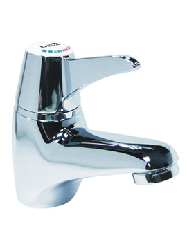 Thermostatic Sequential Lever Mono Basin Mixer Tap - SOL003