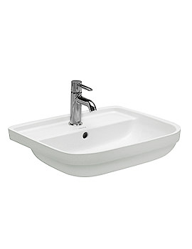 Duravit Happy D 480mm Under Counter Vanity Washbasin - EX Display