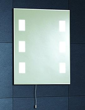 Illuminated Back Lit Mirror 500mm - MI008