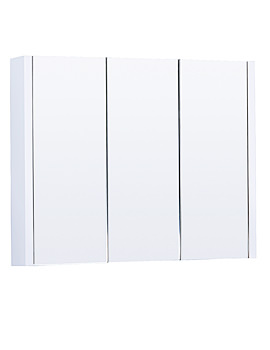 Aqva Valencia Mirrored Bathroom Cabinet - VTY055 900mm