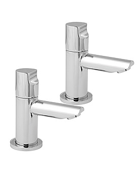 Ikon Chrome Bath Taps - IKO102