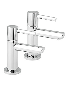 Insignia Basin Taps Chrome - INS101