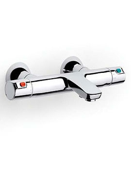 V2 Wall Mounted Thermostatic Bath Shower Mixer Tap - 5A1118C00