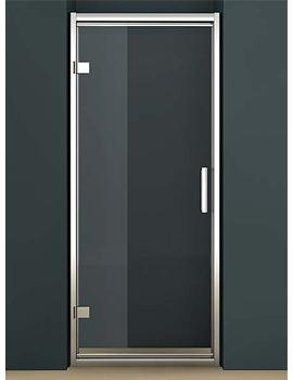 Oxygen 8 Straight Hinged Shower Door 900mm - SE1H90