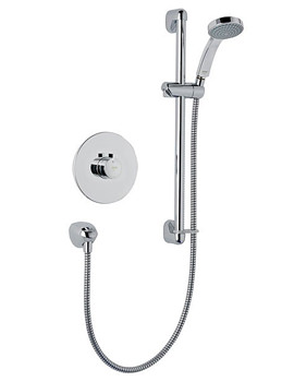 Mira Minilite Eco Built In Valve Thermostatic Mixer Shower Chrome
