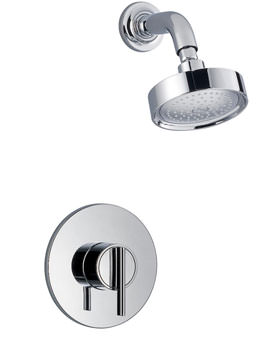 Silver Built In Rigid Thermostatic Shower Chrome - 1.1628.003