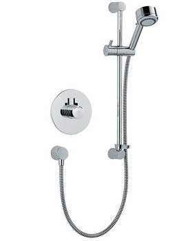 Mira Miniduo Thermostatic Shower Built In Valve - 1.1663.008
