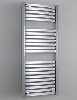 Phoenix Rochelle Curved Designer Towel Rail 500mm x 1200mm - RA054