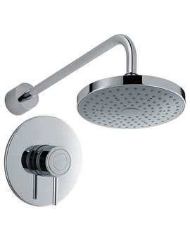 Element SLT Built-In Rigid Thermostatic Mixer Shower Chrome