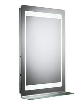 Clarity Gamma Backlit Glass Mirror - MLB270