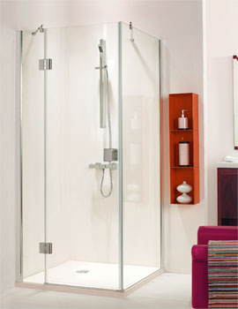 Frame-less Hinged Shower Door 800mm - SE079