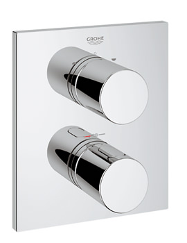 Grohtherm 3000 Cosmopolitan Thermostat With 2-Way Diverter Chrome
