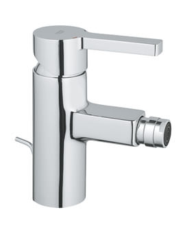 Lineare Bidet Mixer Tap With Pop-Up Waste - 33848000