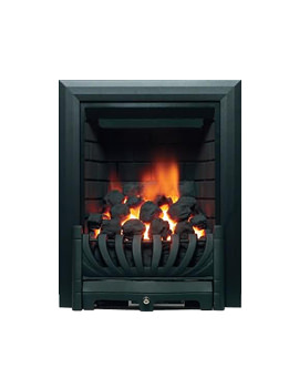 Be Modern Avantgarde Traditional Slimline Inset Gas Fire Black - 8087