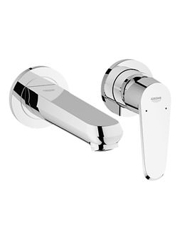 Eurodisc Cosmo Two Hole Wall Mounted Basin Mixer Tap - 19573002