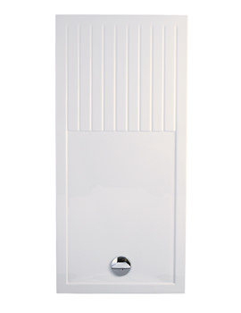 Low Profile Walk-In Shower Tray 1600mm x 800mm - LP043
