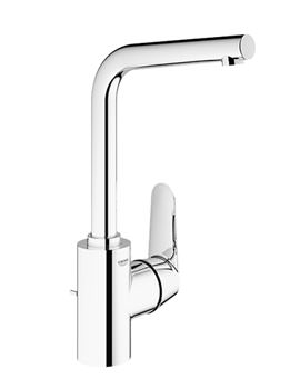 Eurodisc Cosmo Basin Mixer Tap With Pop-up Waste - 23054002