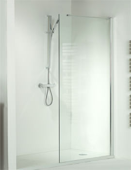 Walk-In Shower Enclosure Side Panel 300mm x 1950mm - SE070