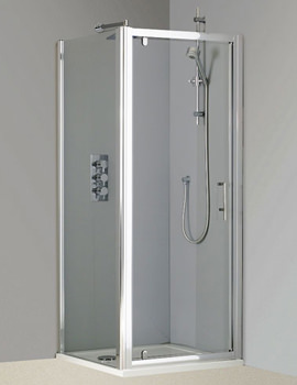 Phoenix Pivot Shower Door 900mm x 1850mm - SE002