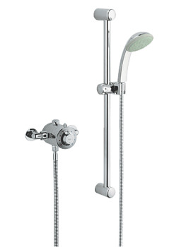 Avensys Classic Thermostatic EV Dual Control Shower Mixer