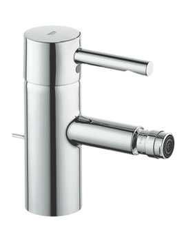Essence Half Inch Bidet Mixer Tap With Pop-up Waste - 33603000