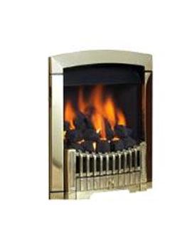 Flavel Rhapsody Slide Control LPG Gas Fire Brass - FDCN45SP