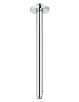 Related Grohe Ondus 292mm Ceiling Shower Arm Chrome - 28497000