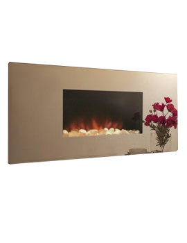 Celsi Accent Mirror Effect Wall Mounted Electric Fire