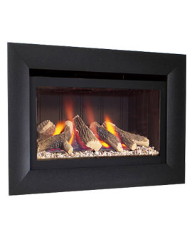 Flavel Jazz Impact Hole In The Wall Gas Fire Black - FJZL10RN