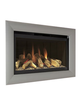 Flavel Rocco Hole In The Wall Gas Fire Black-Silver - FCFL01RN3