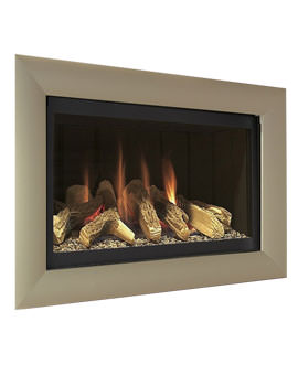 Flavel Rocco Hole In The Wall Gas Fire Black-Champagne - FCFL03RN3