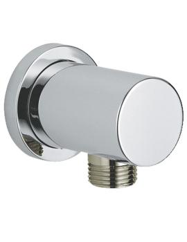Relexa Half Inch Shower Outlet Elbow Chrome - 27057000