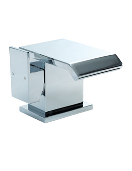 QS Series Basin Mono Tap With Sprung Waste - QS009