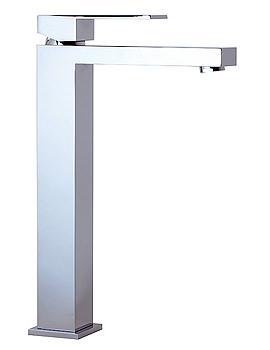 Phoenix CU Series High Neck Basin Mixer Tap With Sprung Waste - CU005