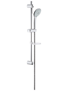 Euphoria Massage Shower Set With 600mm Rail - 27231001