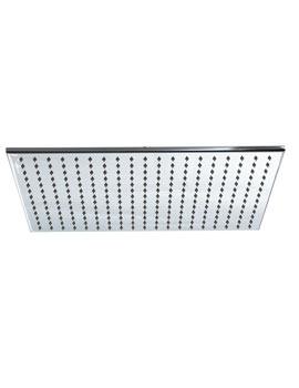 Phoenix Design Rectangular Shower Head 350mm x 500mm - SH021