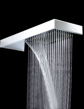 Shower Blade 2 With Waterfall 450mm x 160mm - SH023