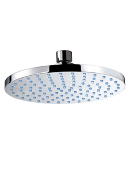 Design Round Shower Head 180mm With Swivel Elbow - SH001