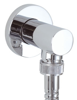 Round Shower Outlet Elbow - SK008