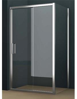 Tavistock Oxygen 8 Straight Sliding Shower Door 1400mm - SE1S14