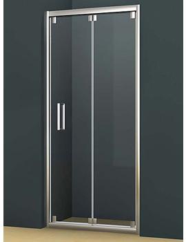 Oxygen 8 Bi-Fold Shower Door 900mm - SE1B90