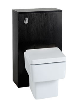 Image of Phoenix Zola Negro Back-To-Wall Unit With Concealed Cistern - BTWNEC