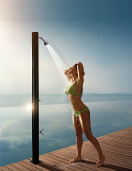 Outdoor Shower Pole - ODS001